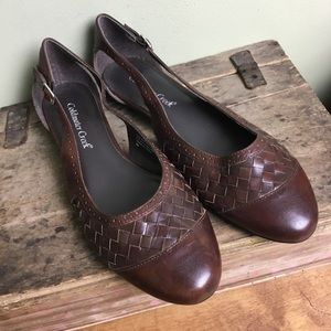 Cole Haan Brown leather flats 8